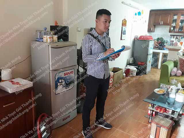Khảo sát và báo giá dịch vụ chuyển nhà trọn gói Thành Hưng